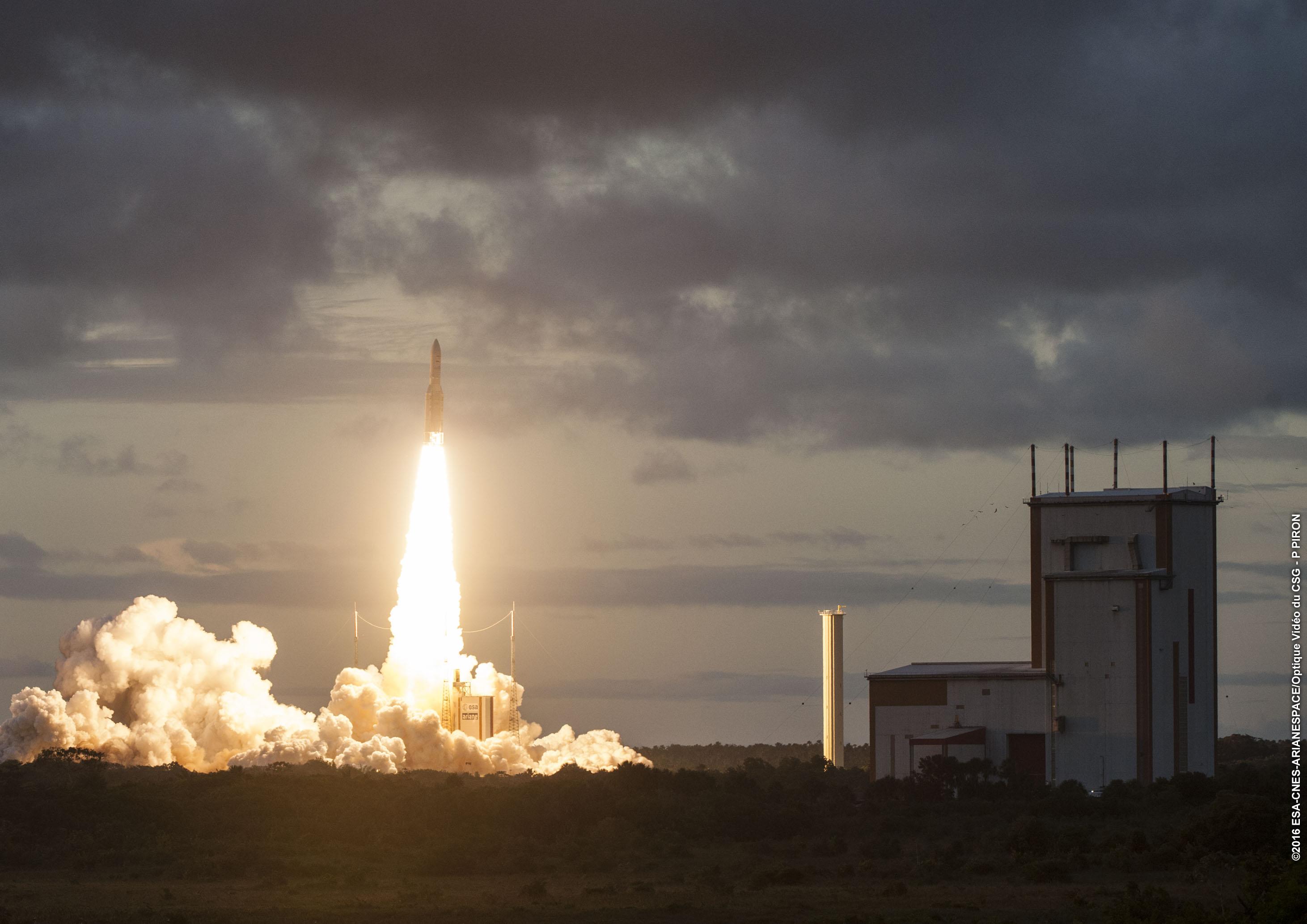 Les lancement de fusées ont permis à la Guyane de renforcer la stabilité de son économie