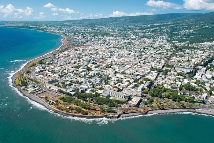 Saint-Denis, capitale de La Réunion. Elle concentre 20% de la population réunionnaise ©DR