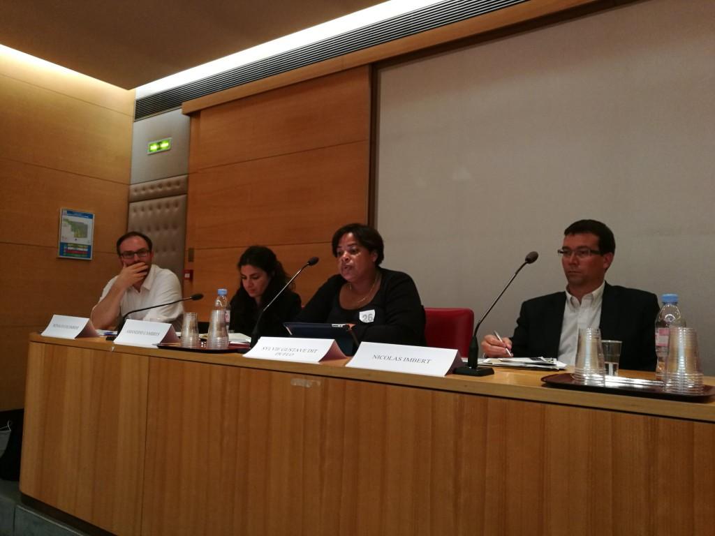 Sylvie Gustave-dit-Duflot, vice-président du Conseil régional a détaillé l'ensemble des actions entreprises par la Région Guadeloupe en matière de développement durable