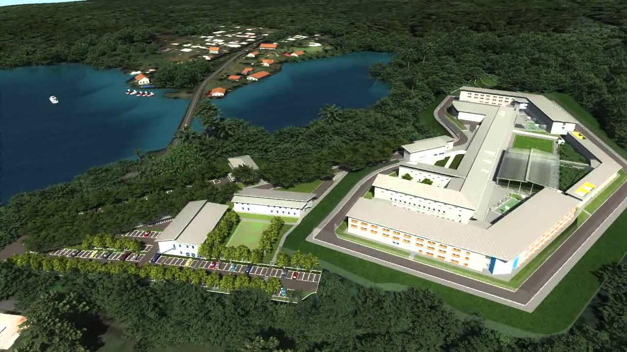 Vétuste, extrêmement surpeuplée, l'actuelle prison de Polynésie française, située dans la commune de Faaa sera remplacée par celle-ci ©DR