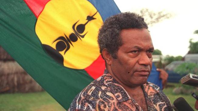 Jean-Pierre Deteix était un très proche collaborateur de Jean-Marie Tjibaou, père du mouvement indépendantiste Kanak assassiné en 1991 ©DR