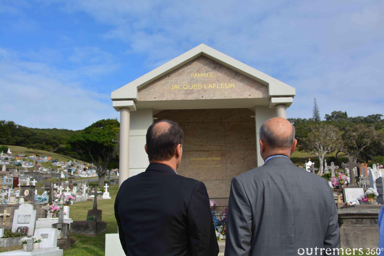 Alain Juppé rend hommage à Jacques Lafleur ©Outremers360