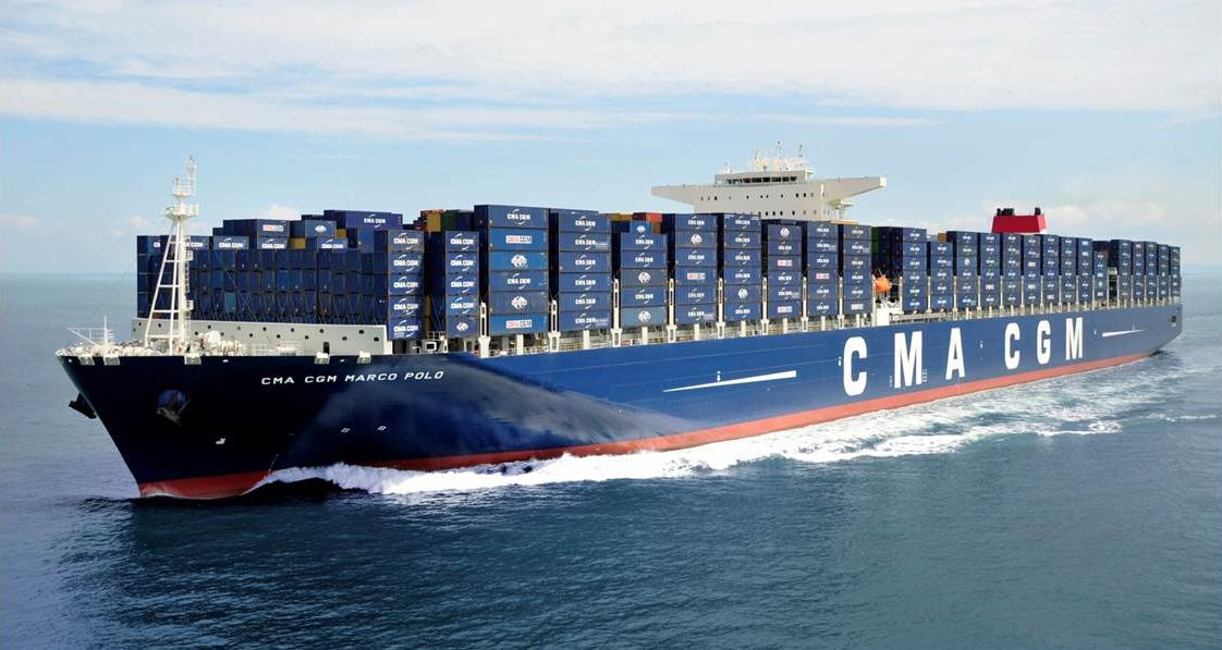 La CMA-CGM est le principal affreteur en Outre-mer ©DR