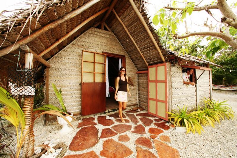 La pension Kuria, sur l'atoll de Fakarava, dans l'archipel des Tuamotu ©DR