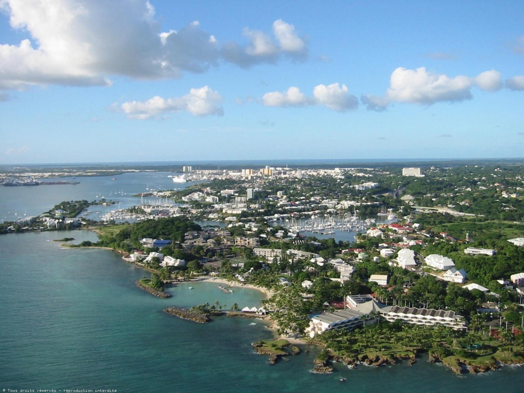Pointe-à-Pitre, capitale de la Guadeloupe ©DR
