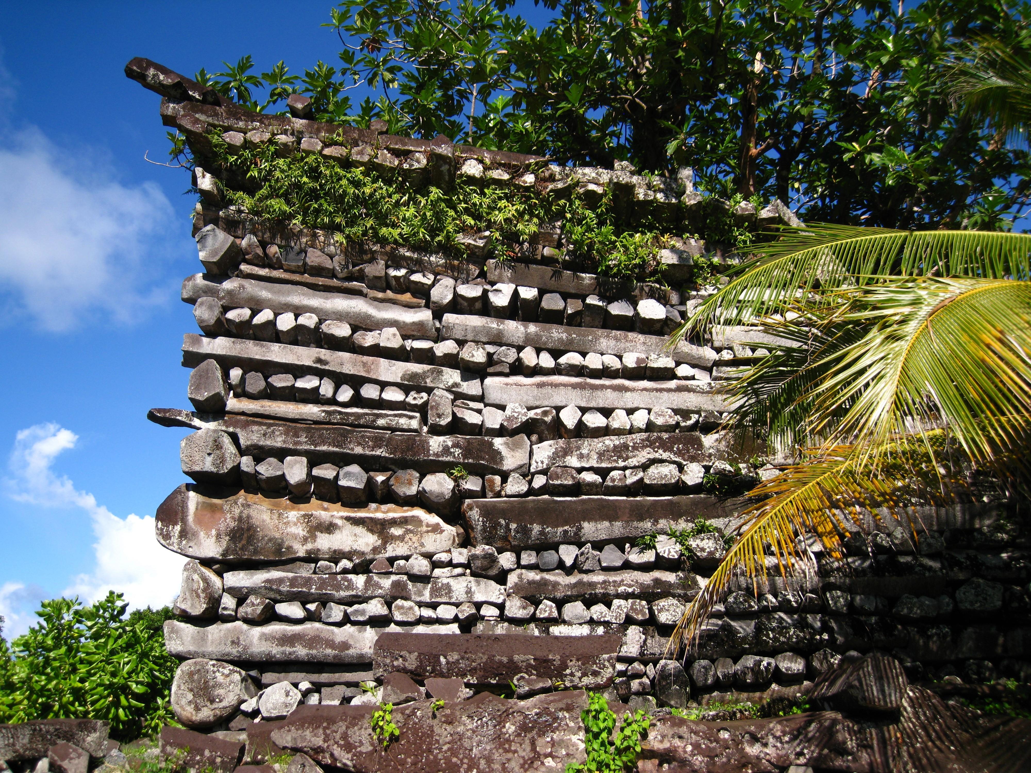 Le Centre cérémoniel Nan Madol en Micronésie ©Takuya Nagaka