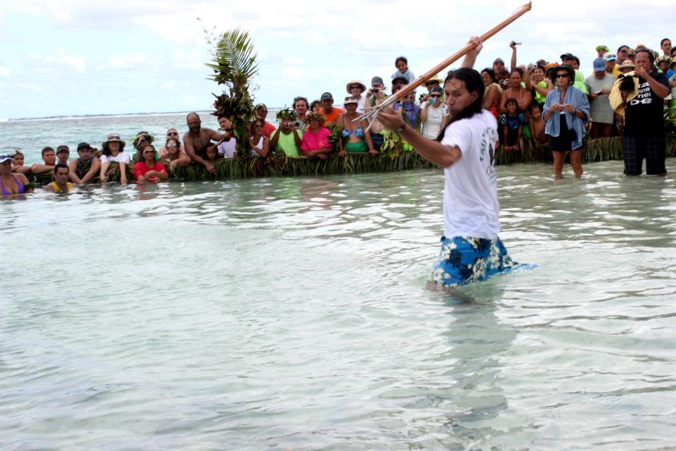 Teheiura, célèbre candidat de Koh Lanta, est originaire de l'île de Tahaa ©T. Faatau / Outremers360