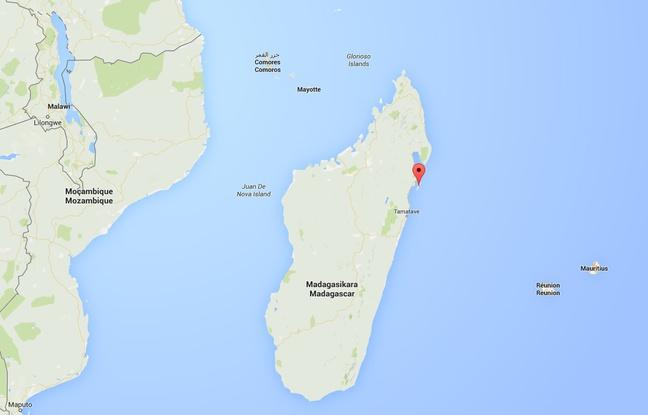 L'île de Sainte-Marie est située sur la côte Est de Madagascar ©20minutes / Google Maps