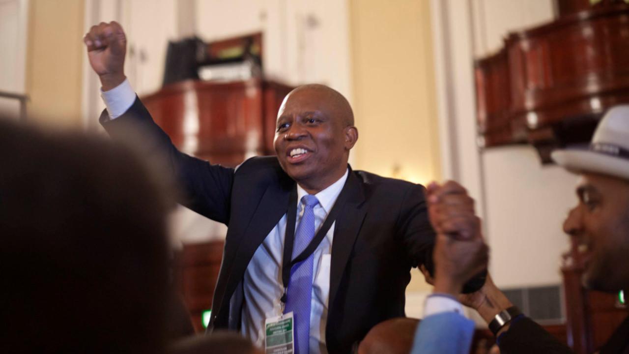 Herman Mashaba, candidat de l'opposition ©Oupa Nkosi / M&G