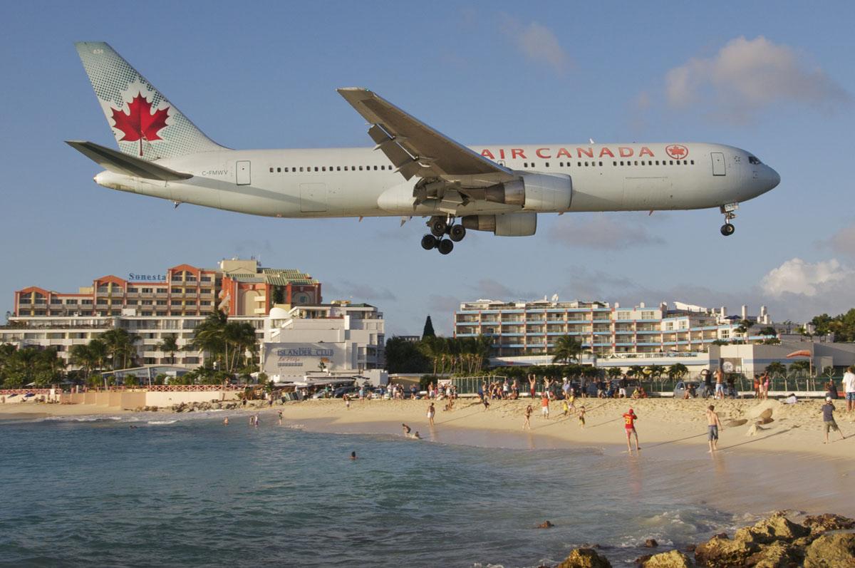 L'aéroport Gand-Case à Saint-Martin ©DR