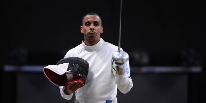 Le Martiniquais Jean-Michel Lucenay lors des championnats d'Europe ©L'Equipe