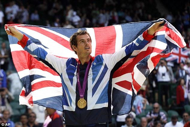 Le tennisman écossais Andy Murray a remporté sa deuxième médaille consécutive ©AP
