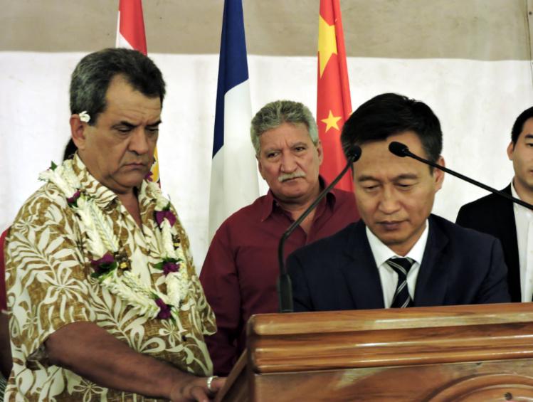 Polynésie française: China Railway signe un mémorandum sur les énergies vertes