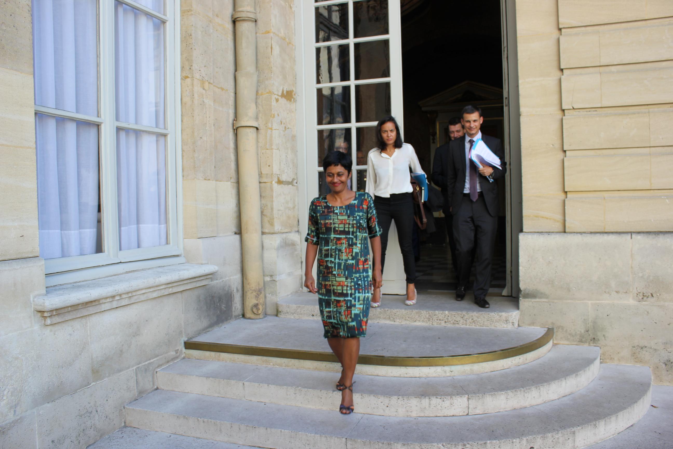 Lorsqu'elle entre au gouvernement en février 2016, Ericka Bareigts aura la charge du projet de loi sur l'Egalité réelle en Outre-mer ©T. Faatau / Outremers360