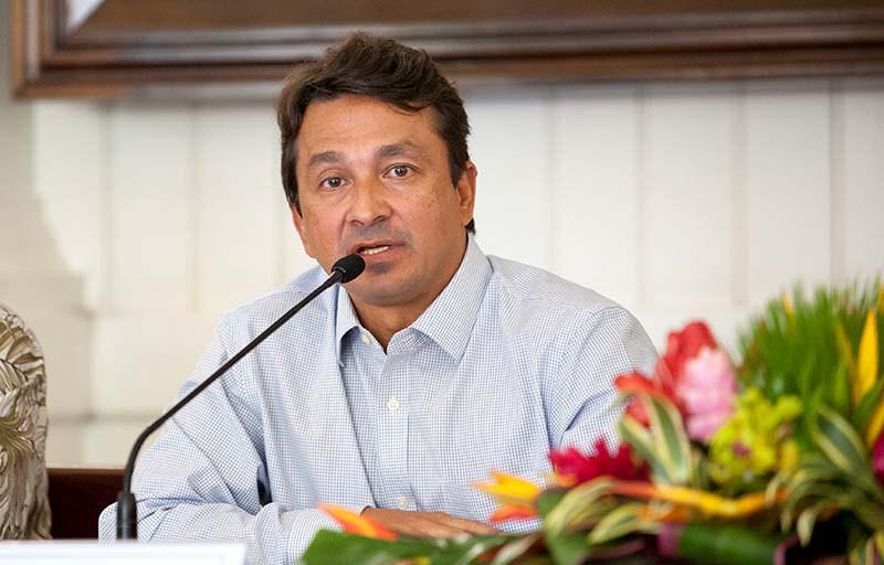 Avec ce remaniement ministériel, l'actuel Vice-président de la Polynésie française pourra entièrement se consacré à son rôle de sénateur ©Cédric Valax / Radio 1 Tahiti