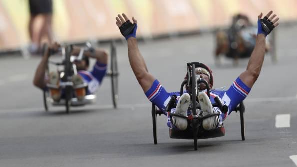 Joël Jeannot a remporté la médaille de bronze en cyclisme ©Reuters