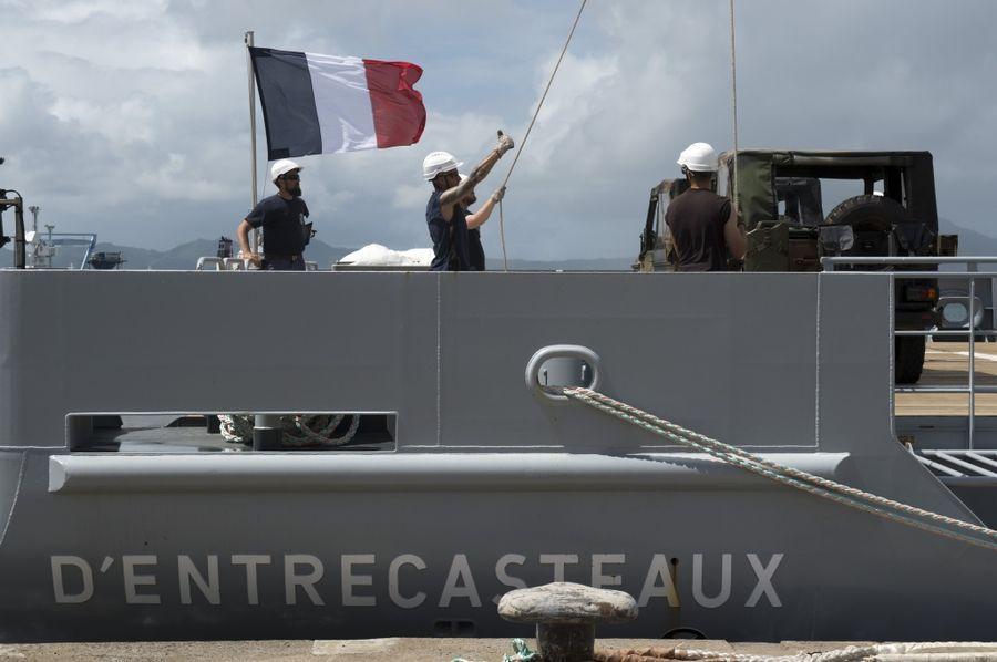 Le D'Encastreaux, arrivé en Nouvelle-Calédonie en juillet dernier ©Défense