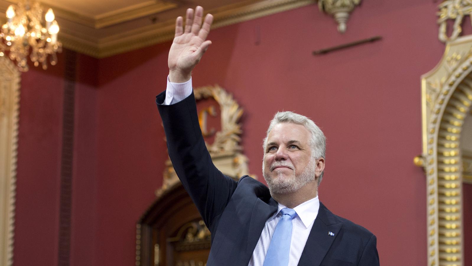 Philippe Couillard, chef du gouvernement du Québec ©Jacques Boissinot / Canadian Press