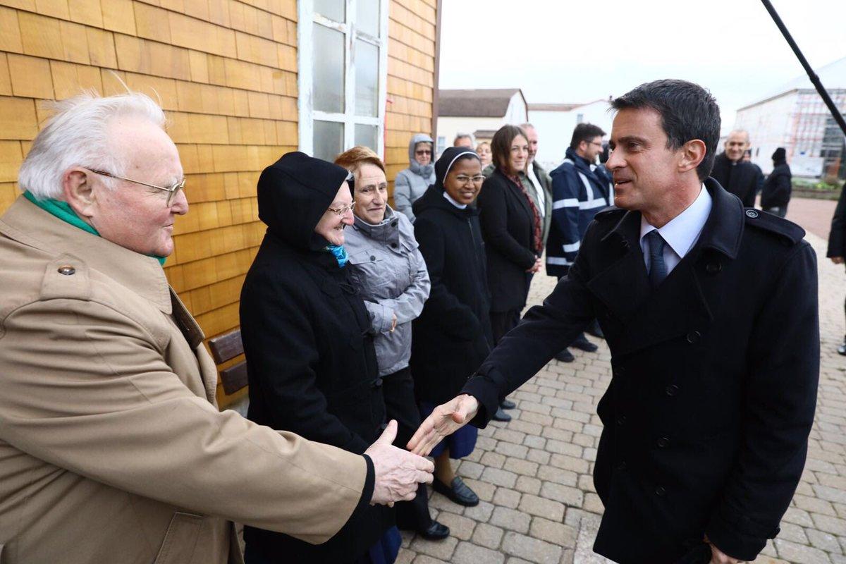 Manuel valls à Saint-Pierre et Miquelon ©DR