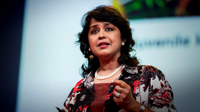 Ameenah Gurib Fakim, scientifique de renom et première femme Présidente de l'île Maurice ©TED Talks