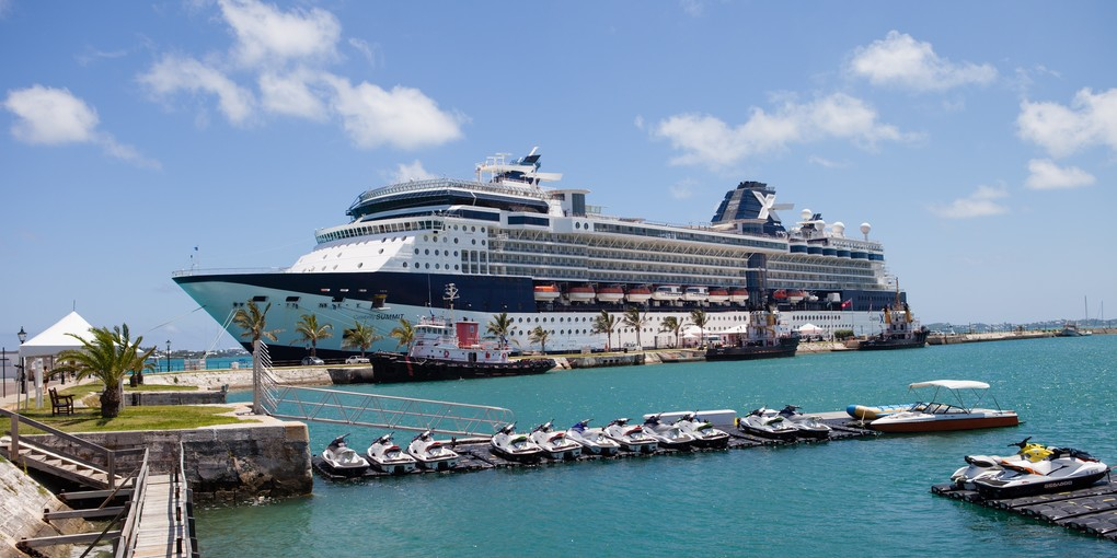 Le Celebrity Summit est attendu en Guadeloupe le 31 octobre ©Jenna Pimental / Celebrity Cruises