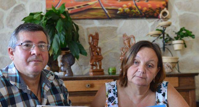 Les parents de Stéphane Moralia, lors d'un entretien pour La Dépêche ©Emilie Cayre / DDM