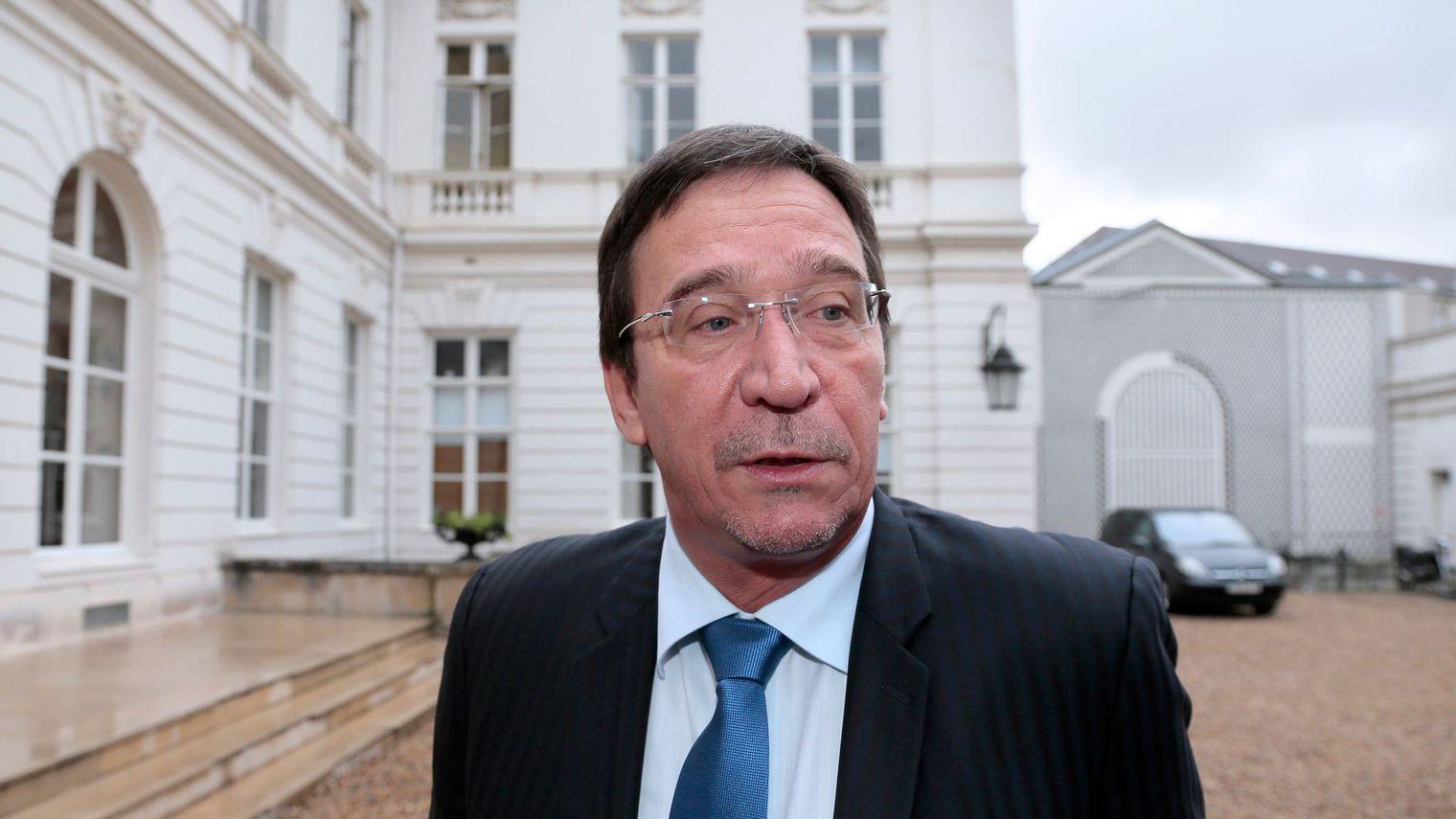 Philippe Gomes, membre du parti Calédonie Ensemble et député (UDI) de la Nouvelle-Calédonie ©Jacques Demarthon / AFP