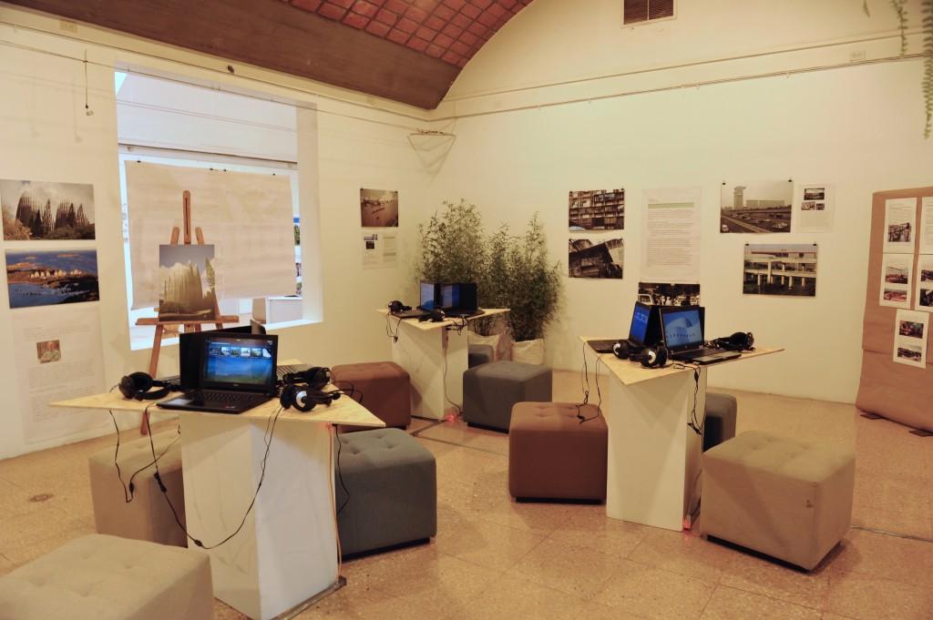 l'exposition Bâtir en bois: du carbet indien à l'habitation, de l'habitation au logement social organisée par le Think Tank Métamorphoses Outremer @Paol Gorneg