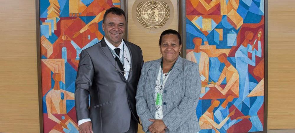 Vlentine Eurisouké, membre du gouvernement de la Nouvelle-Calédonie en charge de la Santé ©Gouvernement de la Nouvelle-Calédonie