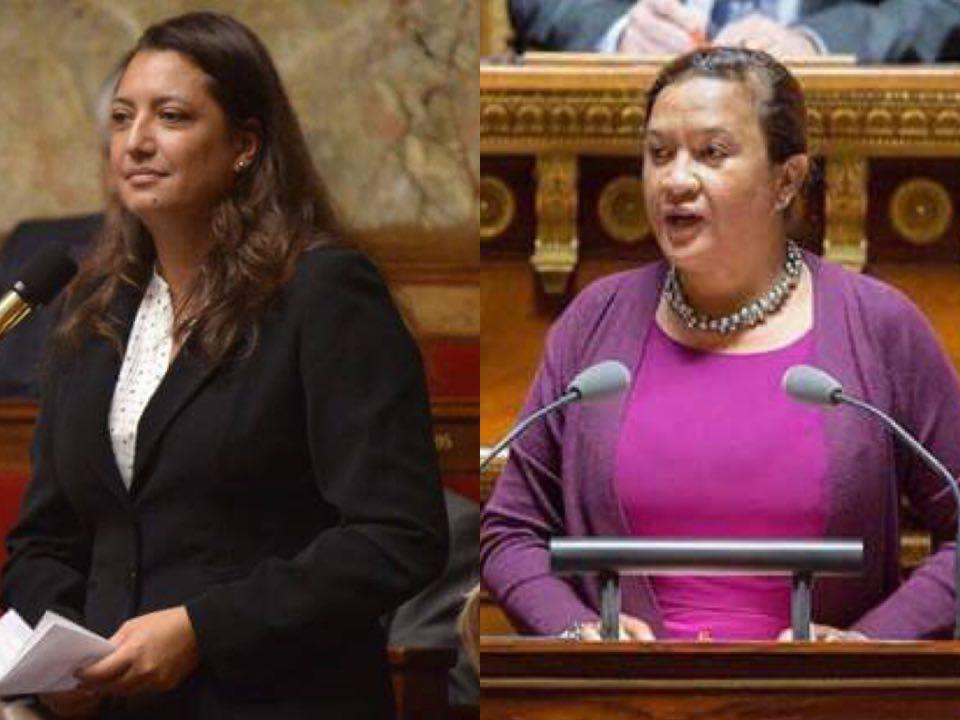"""En 2017, Lana Tetuanui et sa collègue la député Maina Sage avaient obtenu, au forceps, la suppression du """"risque négligeable"""" de la loi Morin ©DR"""