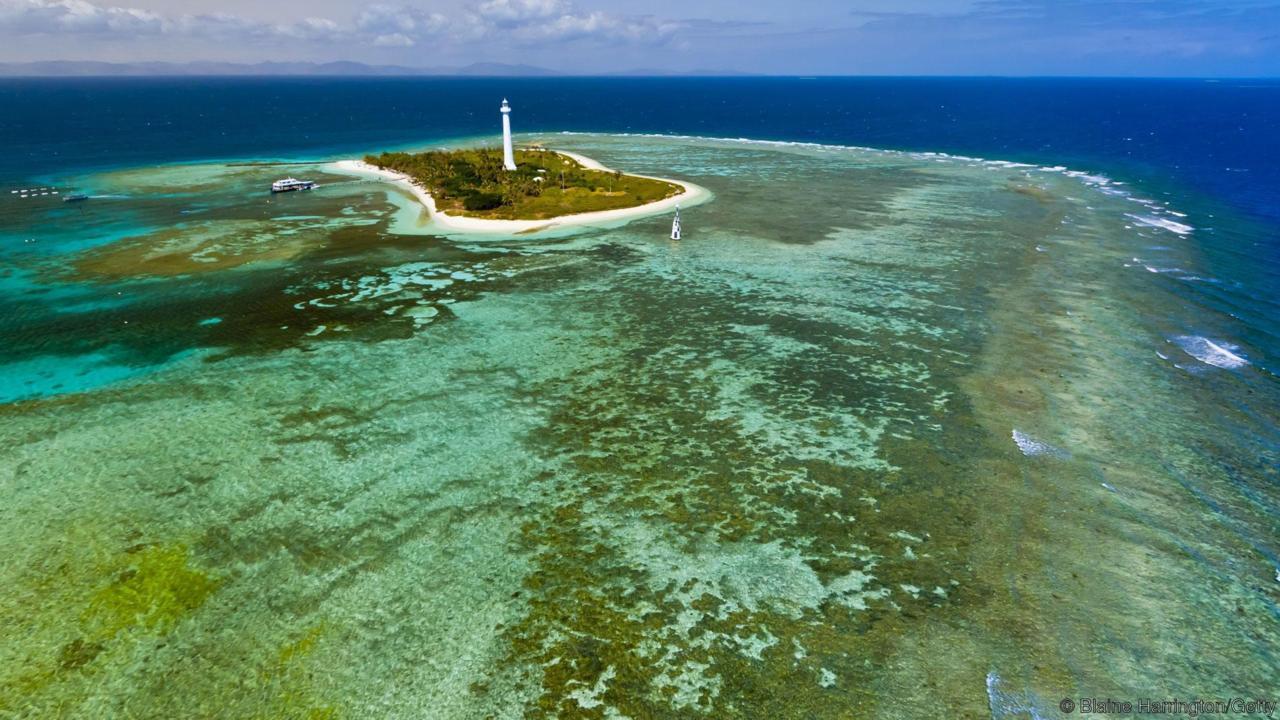 Le Phare Amédée, au large de Nouméa ©Blaine Harrington / Getty