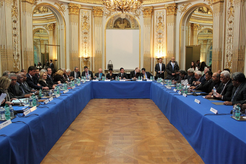 Le XVème Comité des signataires de l'Accord de Nouméa a eu lieu ce lundi 7 novembre à Matignon ©T. Faatau / Outremers360