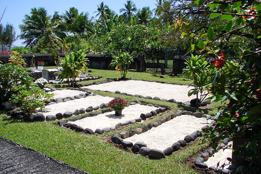 Le cimetière royal des Pomare © Tahiti-Heritage