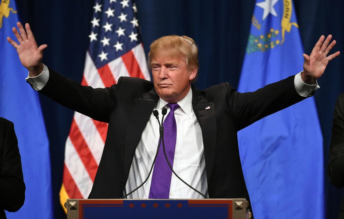 Le 8 novembre, Donald Trump remporte, contre toute attente, l'élection présidentielle américaine ©Ethan Miller / Getty Images