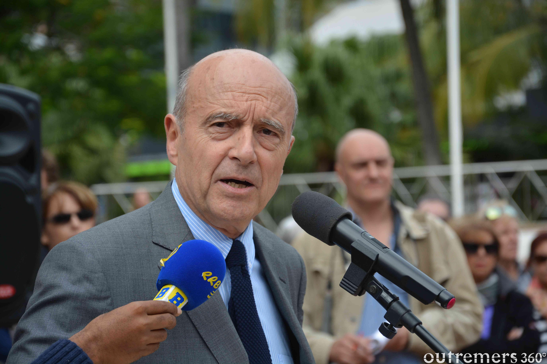 Candidat malheureux de la primaire de la droite, Alain Juppé en Nouvelle-Calédonie ©Outremers360