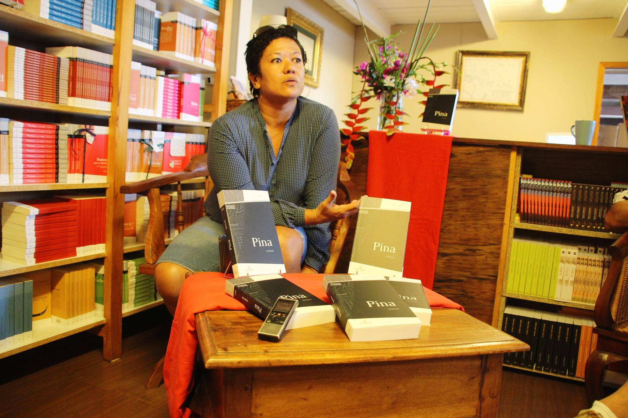 Littérature en Outre-mer: «Nous sommes une littérature parmi les autres, une littérature à part entière», Titaua Peu