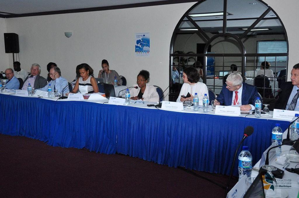 Les réunions ont été placés sous la présidence de la Région Guadeloupe, autorité de gestion du programme Interreg V ©Interreg Caraïbes