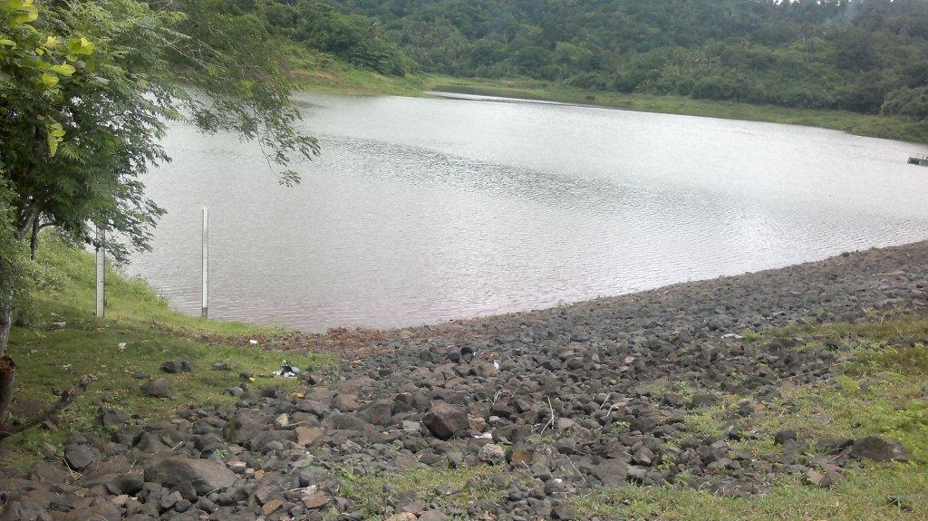 La retenue collinaire de Dzoumoné remplie à 33% la semaine dernière ©Le Journal de Mayotte