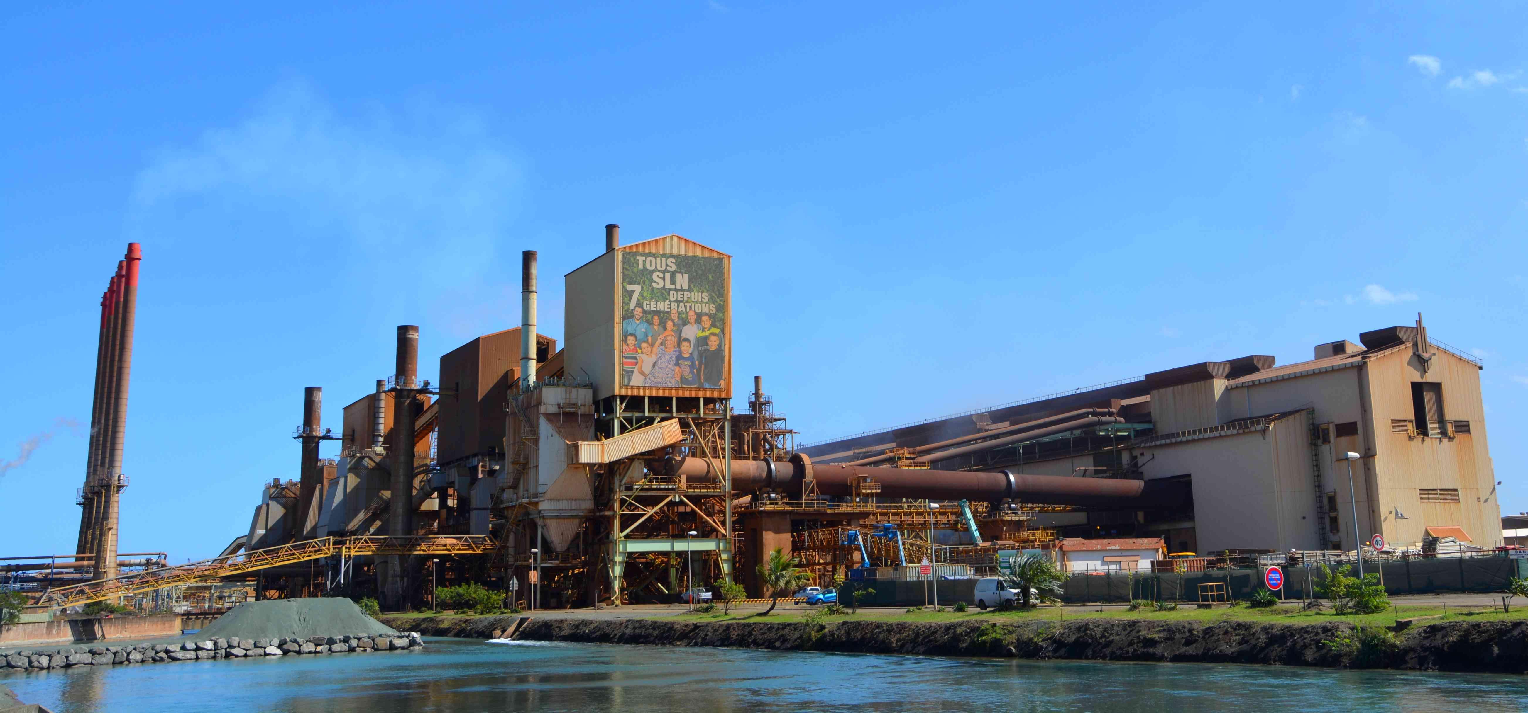 La Société Le Nickel en Nouvelle-Calédonie, qui a fait face à de nombreuses difficultés économiques en 2016 ©Outremers360