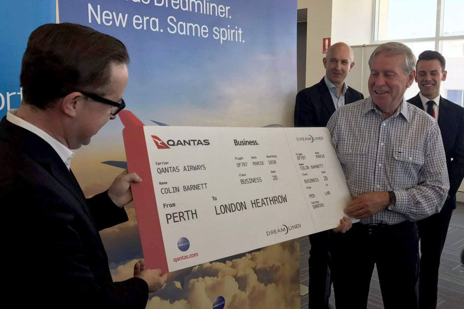 Qantas inaugurera son premier vol sans escale, le plus long, en mars 2018 ©Rebecca Carmody / ABC News