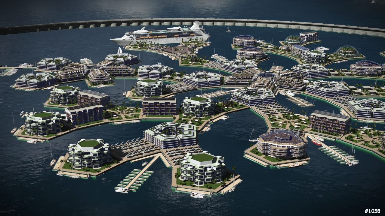 Exemple de projet The Seasteading Institute ©The Seasteading Institute