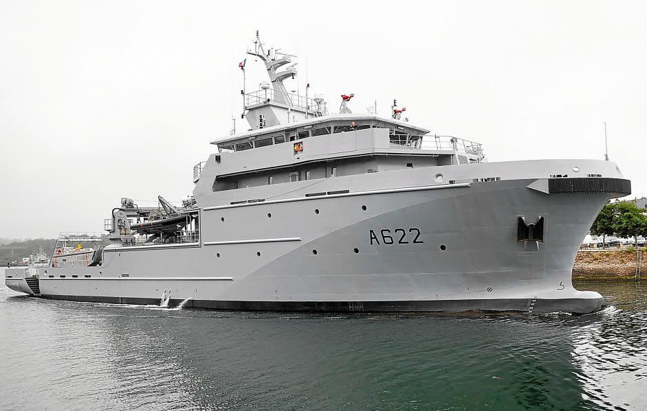 Le B2M Bougainville, patrouilleur nouvelle génération affecté en Polynésie afin de remplacer l'actuel patrouilleur ©DR