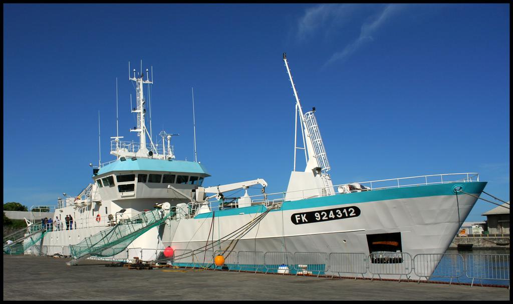 Le premier marin-pêcheur fait partie de l'équipage du Mascareignes III ©DR