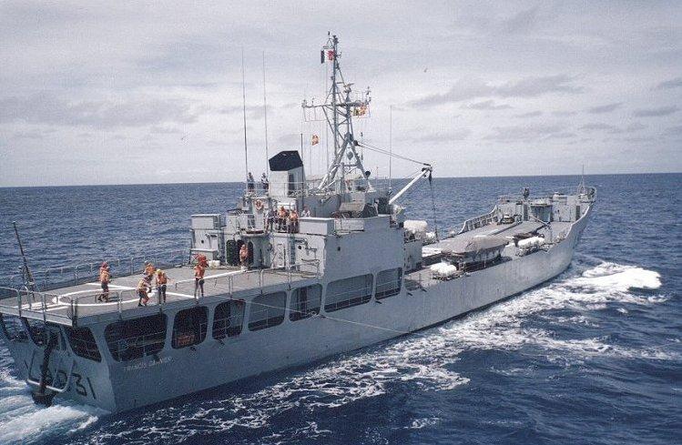 Les actuels bâtiments de la Marine nationale arrivent à l'âge de la retraite et doivent être remplacés ©DR