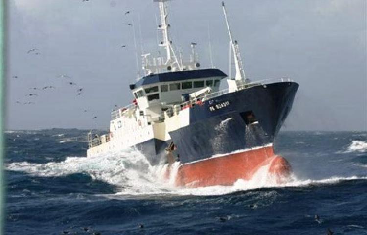 Le second marin-pêcheur officiait quant à lui sur le Cap Horn I ©DR