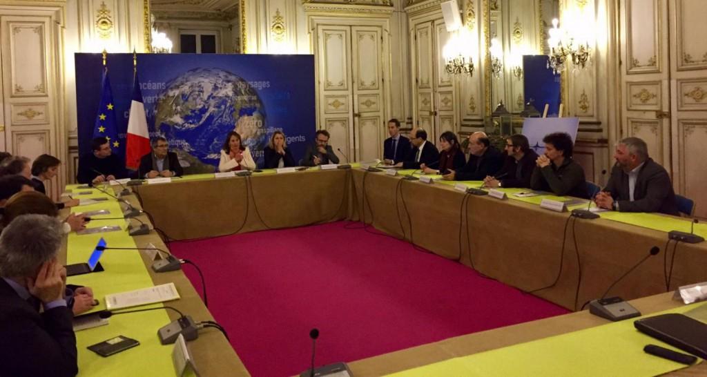 Le conseil scientifique a été installé le 3 décembre dernier © Ministère de l'Environnement