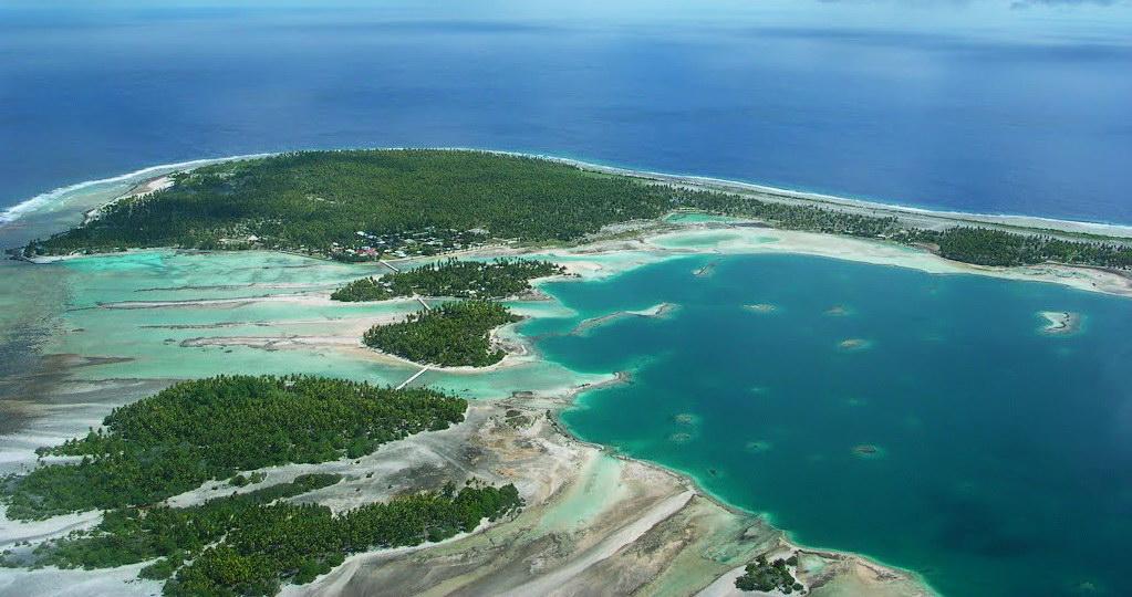 Comme tous les atolls, l'accès à l'eau potable et douce à Fangatau est un véritable enjeu ©DR