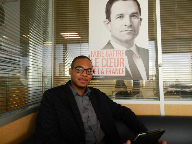 Valentin Narbonnais, porte-parole pour les Outre-mer de Benoît Hamon ©People Bokay