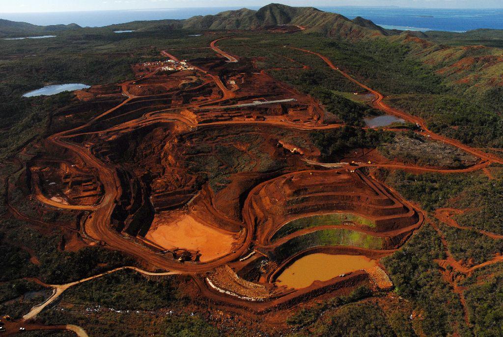 L'usine de nickel de Goro (Vale), en Nouvelle-Calédonie ©DR