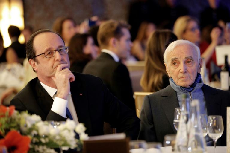 D'origine arménienne, le chanteur Charles Aznavour est un des rescapés du génocide arménien ©Christophe Ena / AFP